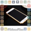 Aluminium Bumper with Mirror Back Cover for iPhone 7 Pl`67CK4N- Golden