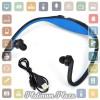 Sports Wireless Bluetooth Headset - BTH-404 - Black/Blue`66SIWQ-