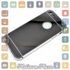 Aluminium Bumper with Mirror Back Cover for iPhone 5/5s`67C2IH- Silver