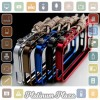 Aluminium Bumper Case Arm Trigger for iPhone SE/5s/5 - Black`67BMBE-