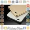 Aluminium Bumper Case with Arcylic Back for Xiaomi Mi4i`67BW1N- Golden