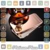 Aluminium Bumper with Mirror Back Cover for iPhone 6 Pl`67CAKK- Golden