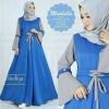 longdress muslim hijab dress long baju pesta elegan mewah branded