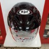 Helm KYT Romeo Solid Black Metalic