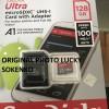 Micro Sd sandisk 128 gb 128gb 100 Mbps  A1  original garansi resmi