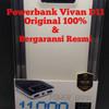 powerbank vivan D11/Vivan D11 11.000mAh/powerbank Vivan Resmi
