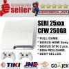 SONY PS3 PS 3 Playstation3 Slim 250 GB CFW Seri 25XX PUTIH + FULL GAME