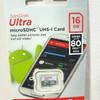 SanDisk Ultra microSDHC Card UHS-I Micro SD Class 10 16GB (48MB/s)
