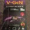 micro sd 16gb v-gen turbo series