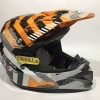 HELM KYT CROSS OVER DRIFT WHITE ORANGE TRAIL
