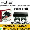 PS3 SUPER SLIM 500GB OFW FULL GAMES REFURBISH BY SONY