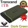 Transcend StoreJet 25M3 1TB Portable USB 3.0 External HDD  Green