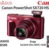 Canon PowerShot SX720 HS (RED) Garansi Resmi