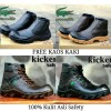 Sepatu Kickers Boots Murah / Boot Safety Pria Tracking Touring