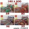 Seprei Carmina Batik Ukuran 160 x 200 cm (Seri 8)