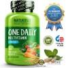 NATURELO - #1 Ranked - One Daily Multivitamin for Men - 60 capsules