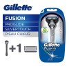 Gillette Pisau Cukur Fusion Proglide Silvertouch