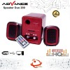 Speaker Advance Duo 200 Speaker Portable USB Audio Komputer