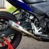 Daytona GP Taper Exhaust untuk Yamaha R25&MT25  SHORT