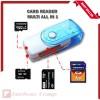 Card Reader All in 1 4 Slot USB Flashdisk Putar