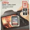 Memori SANDISK Ultra SDHC 16GB Class 10