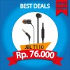 EARPHONE JBL T110 PUREBASS