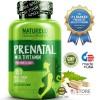 NATURELO - #1 Ranked - Prenatal Whole Food Multivitamin - 180 capsules