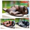 Sandal Pria Murah ! Kickers Sandal Round Concept Kulit Asli