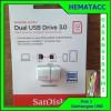 Flash Disk OTG Sandisk Ultra 32GB Dual Drive USB 3.0 32GB (150MB/s)