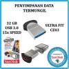 USB Flashdisk 3.0 Micro Sandisk Cruzer Ultra Fit CZ43 32GB USB 3.0