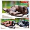 Sandal Pria Murah !! Kickers Sandal Round Concept Kulit Asli