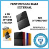 WD My Passport Ultra 4 TB External HDD / Harddisk NEW!