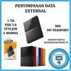 External HDD/Harddisk WD my passport ultra 1TB - New Model