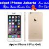 IPHONE 6 PLUS 16GB GOLD - 4G LTE - GARANSI 1 TAHUN