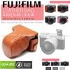 Fujifilm X-A3/XA3 Leather Bag/Case/Tas Kamera
