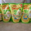 Zwitsal Baby Bath 2in1 Hair&Body Refill-450 ml (Free Hair Lotion 50ml)