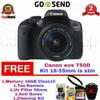 Camera Canon Eos 750D kit 18-55mm IS STM / Paketan Bonus
