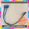 KABEL POWER DC CABANG 4