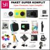 Xiaomi Yi Paket Super Komplit Garansi 1 Tahun!