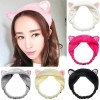 SKY02 Hairband Cat Ear Cuci Muka Ikat Rambut Hair Band Bando kitten Cu thumbnail