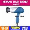 MIYAKO HAIR DRYER HD-550 - PENGERING RAMBUT TRAVEL HAIRDRYER thumbnail