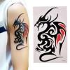 Tattoo Naga Tatto Wolf Tiger Dragon Body Art Temporary thumbnail