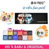 12 Color Face Paint - Face & Body Paint Set 12 Color - Face Art thumbnail