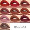 FOCALLURE Velvet Liquid Lipstick Makeup Lip Gloss FA76 - Copper Rose X 4