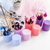 RUMAUMA Brush Makeup ISI 12 PCS Kuas Set Lembut Dengan Tempat Holder - Biru Muda 1