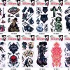 GGSELL GGSELL 12pcs temp fake tattoo stickers in 1 package,it includin thumbnail