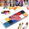 12 Warna Face Painting Body Painting DIY Face Make Up Cat Wajah thumbnail
