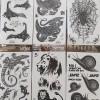 Tato temporer size 17 x 10 cm seri reptil thumbnail