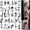 30Pcs Set Stiker Tattoo Temporer untuk Wanita thumbnail
