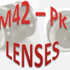 Lensa manual M42 Pentax
